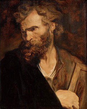 Jude the Apostle - Apostle Jude by Anthony van Dyck