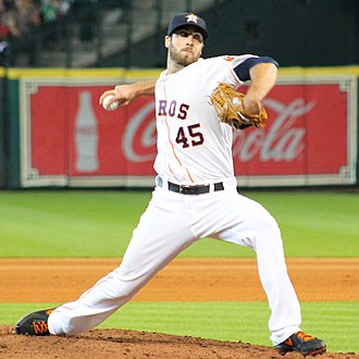 Anthony Bass - Bass with the Houston Astros