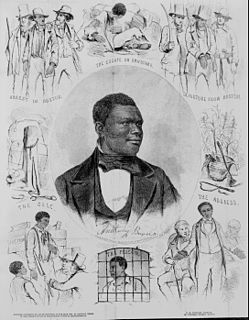 Anthony Burns American escaped slave