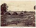 Antietam Bridge, On the Sharpsburg and Boonsboro Turnpike, No. 2, September 1862 MET DP116711.jpg