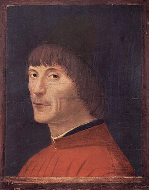 Male portraits by Antonello da Messina - 1460s (Pavia)