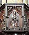 Antwerp St George's Church Pulpit 03.JPG