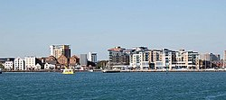 Approaching Poole Quay, Dorset - geograph.org.uk - 1607285.jpg