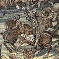 Arazzi Battaglia di Pavia - Francesco I uccide Ferrante Castiorta.jpg