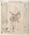 Architectural Study (recto); Separate Sheet with Architectural Drawing (verso) MET DP810415.jpg