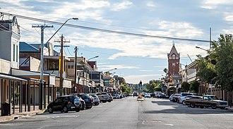 Broken Hill - Argent Street, Broken Hill's main street