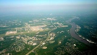 Cincinnati/Northern Kentucky International Airport Airport in Hebron, Kentucky serving Greater Cincinnati in the United States