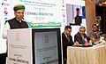 """Arjun Ram Meghwal addressing the participants at the National Conference on """"Sustainable Infrastructure"""", organised by the Institute of Cost Accountants of India (ICAI), in New Delhi.jpg"""