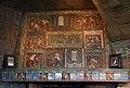 Arkansas Traveler fireplace tiles by Henry Mercer, Mercer Museum.jpg
