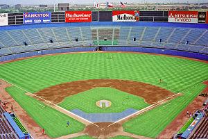 Arlington Stadium - Image: Arlington Stadium 1988