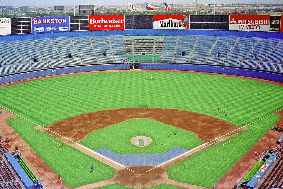 Arlington Stadium 1988