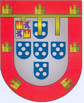 Duke of Beja - Personal Coat of Arms of Infante Luis, 5th Duke of Beja.