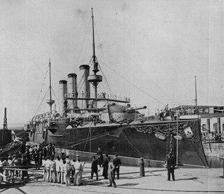 Spanish cruiser <i>Emperador Carlos V</i>