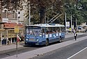 Arnhem DAF trolleybus 169 at Willemsplein in 1983.jpg