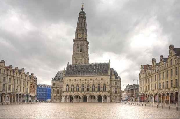 Monument historique à Arras