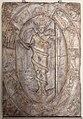 Arte romana, rilievo con aion-phanes entro lo zodiaco, 150 dc ca., probabilmente da un mitreo.jpg
