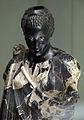 Arte romana con restauri moderni, testa di moro antico con corpo di restauro 04.JPG