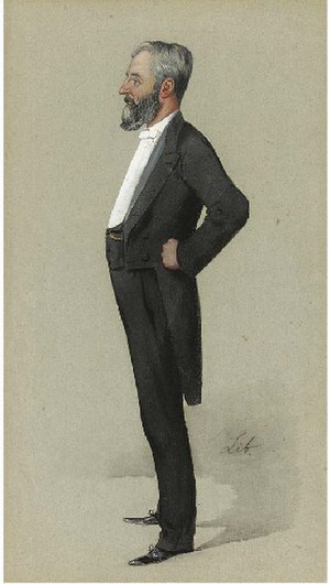 Arthur Forwood - Forwood as caricatured by Liborio Prosperi in Vanity Fair, August 1890