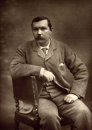 Arthur Conan Doyle - Portrait of Doyle by Herbert Rose Barraud, 1893