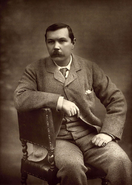 Portrait of Doyle by Herbert Rose Barraud, 1893 Arthur Conan Doyle by Herbert Rose Barraud 1893.jpg