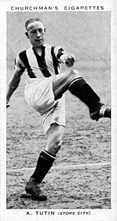 Arthur Tutin English footballer