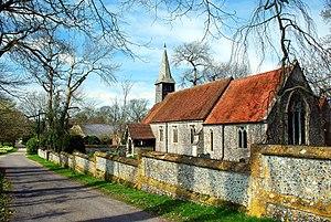 Ashe, Hampshire - Image: Ashe Church