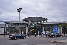 Ashford International Car Park D Location