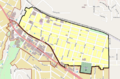 Ashland Railroad Addition HD boundary map.png