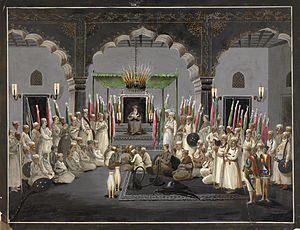 Subedar - Mughal ranks included the nawab, subahdar, mansabdar, sawar, and sepoy.