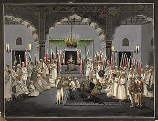 Subahdar Governor of a province during the Mughal era