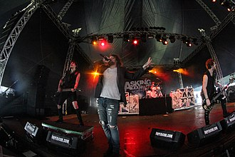 Asking Alexandria - Asking Alexandria at With Full Force 2013