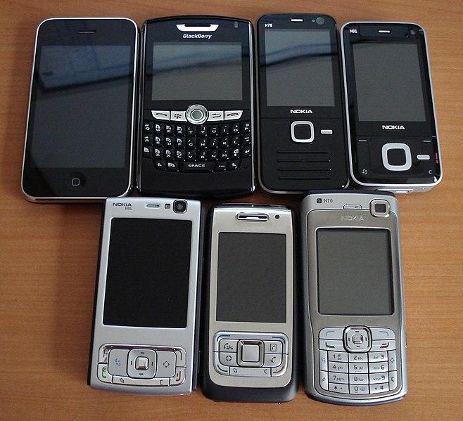 File:Assorted smartphones.jpg