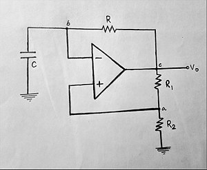 Multivibrator - Astable Multivibrator using Op-Amp circuit