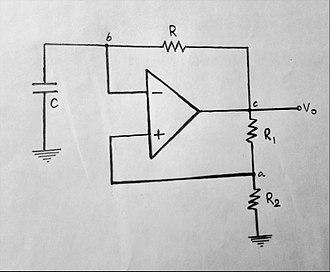 Multivibrator - Astable Multivibrator using Op-Amp circuit