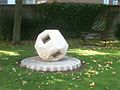 Aston University Abstract shape 2 newly cleaned Sep 2014.JPG