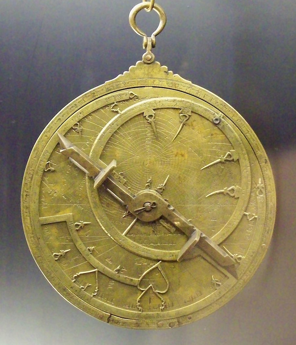 Astrolabio andalusí Toledo 1067 (M.A.N.) 04