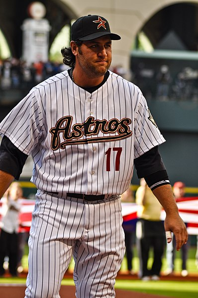 Lance Berkman with the Astros 2009