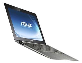 Zenbook - Image: Asus x 21 ultrabook