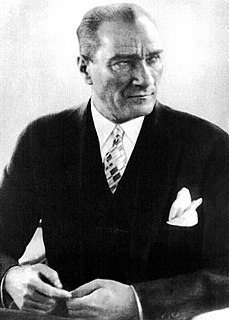 Mustafa Kemal Atatürk Founder of the Republic of Turkey