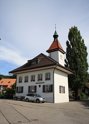Attiswil - Municipal administration building in Attiswil village