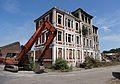 Auberchicourt - Démolition des Grands bureaux de la Compagnie des mines d'Aniche le 24 juillet 2013 (08).JPG