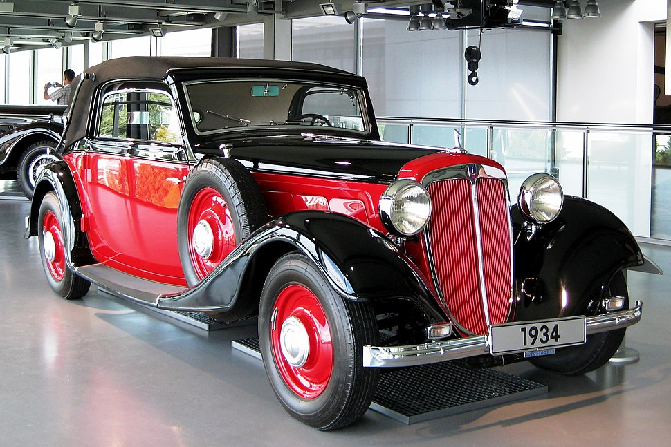 Audi Front UW 220 exhibited at Autostadt in Wolfsburg
