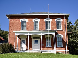 National Register of Historic Places listings in Audubon County, Iowa - Image: Audubon Coumty Home Historic District