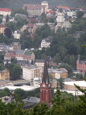 Aue - Image: Aue Stadtkern
