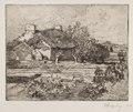 Auguste Louis Lepère - Vielle Bourrine, Maison du Marais, Vendée - 1920.628 - Cleveland Museum of Art.tif