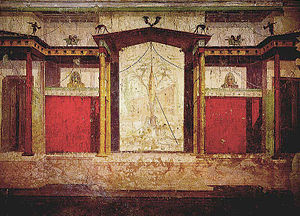 House of Augustus - Fresco in the House of Augustus.