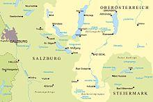 Salzkammergut Karte.Salzkammergut Wikipedia