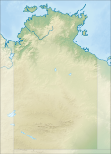Mount Conner location shown in the centre of Australia