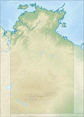 (Voir situation sur carte: Territoire du Nord)