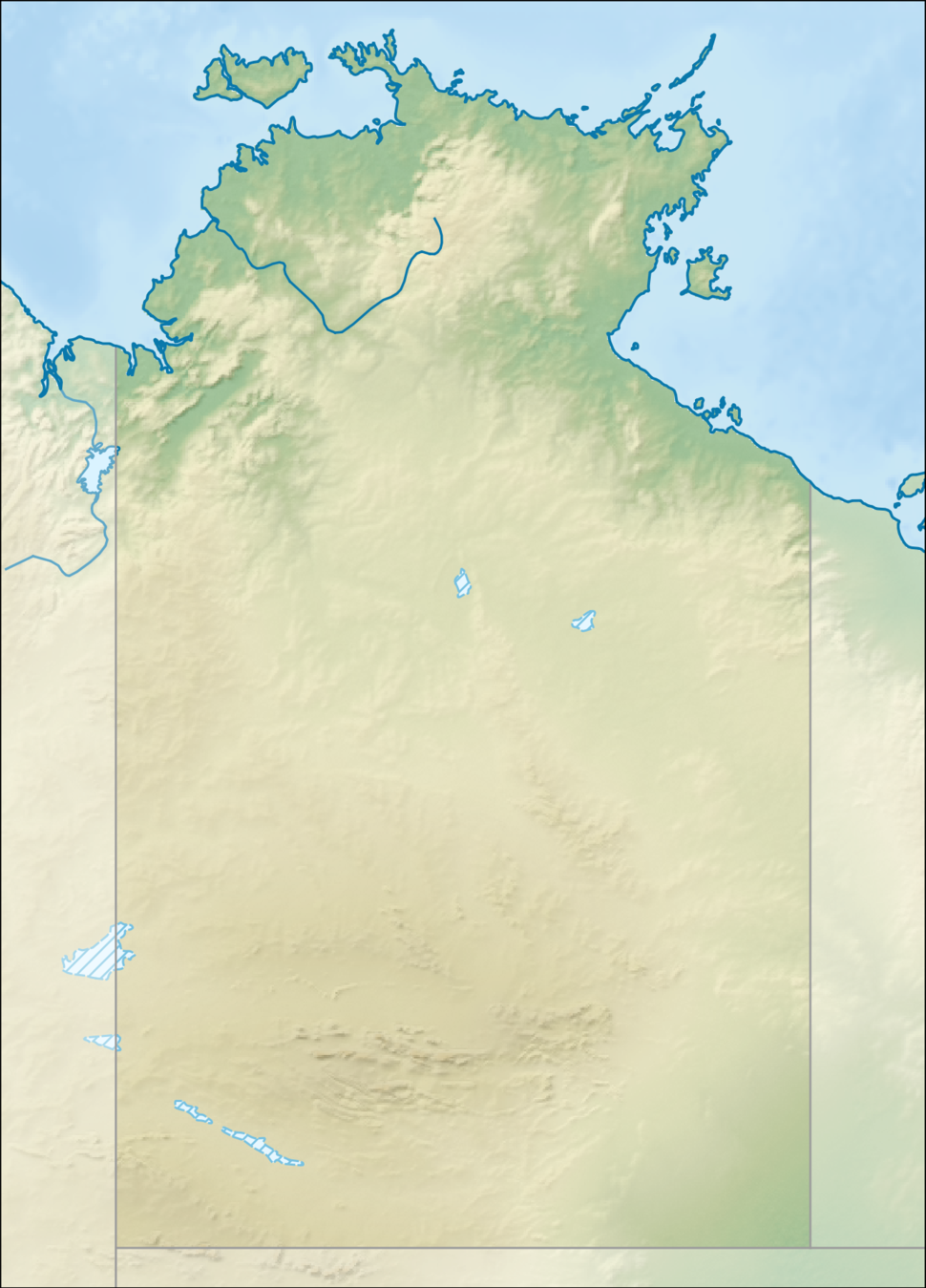 HMAS Coonawarra is located in Northern Territory
